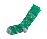 Vineyard Vines Candy Cane Socks - Forest Green