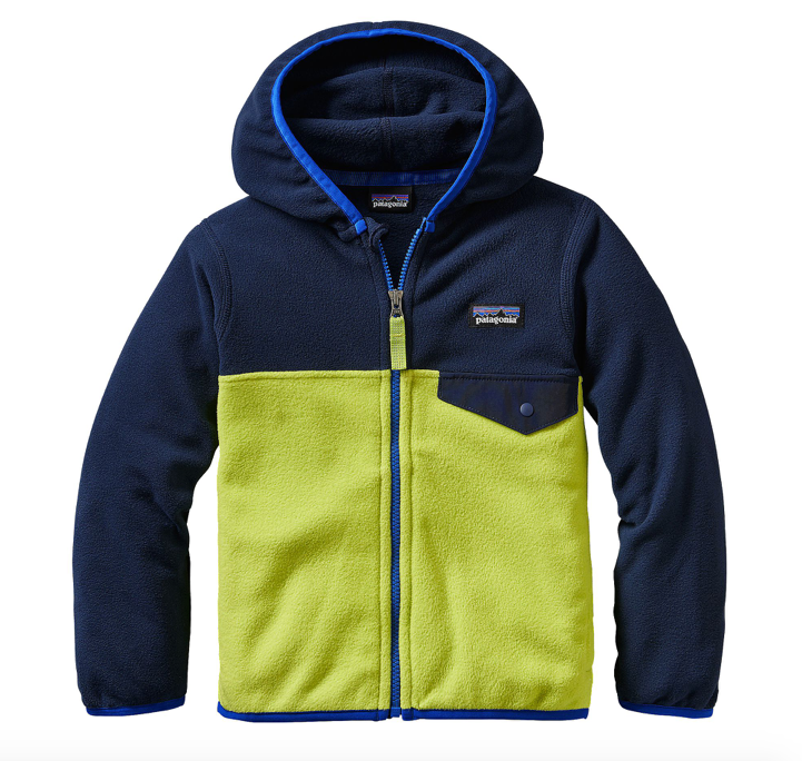 Patagonia Baby Micro D® Snap-T® Fleece Jacket - Glare Green