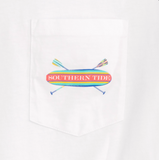 Southern Tide Keep Paddling T-Shirt - Classic White
