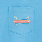 Southern Tide Youth Keep Paddling T-Shirt - Ocean Channel