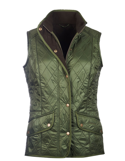 Barbour Cavalry Quilted Vest - Kelp/Olive