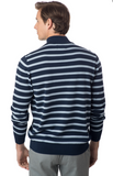 Southern Tide Alpenglow Stripe 1/4 Zip Sweater