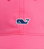 Vineyard Vines Womens Performance Logo Baseball Hat - Rhododendron