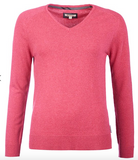 Barbour Women's Mill V-Neck Sweater - Aster