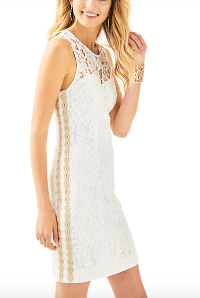 Lilly Pulitzer Mila Shift Dress - Corded Floral Lace