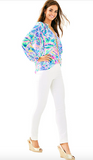 "Lilly Pulitzer 30"" Alessia Stretch Dinner Pant - Resort White"