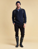 Barbour Spate Half Zip Sweater - Navy