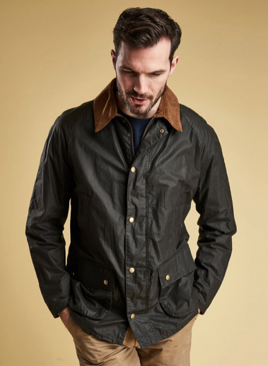 dc3a75462c8 Barbour Lightweight Ashby Wax Jacket - Dark Olive
