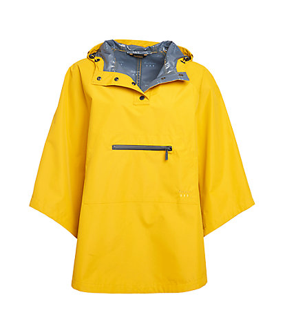 Barbour Alto Waterproof Cape - Canary Yellow