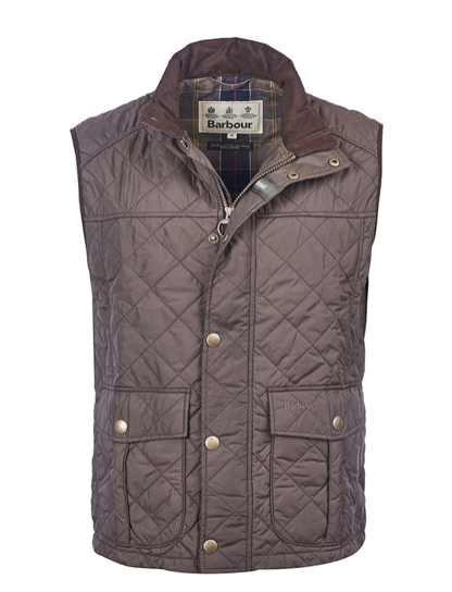 Barbour Explorer Quilted Vest - Dark Olive
