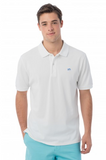 Southern Tide Skipjack Polo - Classic White