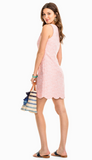 Southern Tide Chelsea Scallop Dress - Shell Pink
