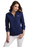 Vineyard Vines Relaxed Whale Embroidered Shep Shirt - Deep Bay