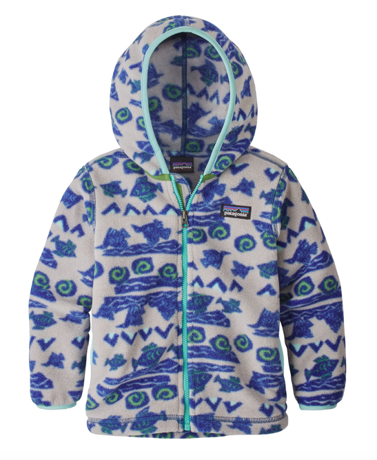 Patagonia Baby Synchilla® Fleece Cardigan - Boulder Fish Big