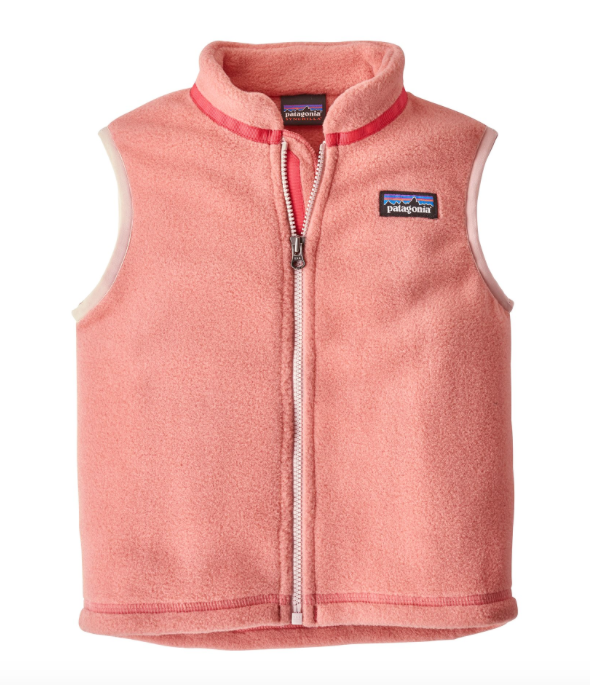 Patagonia Baby Synchilla® Fleece Vest - Peak Pink