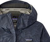 Patagonia Women's Torrentshell Jacket - Lamp Lights Navy Blue