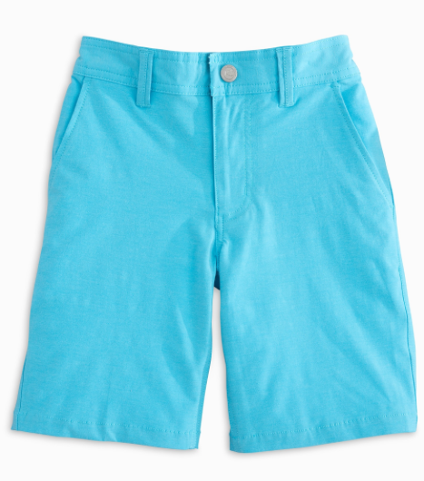 Southern Tide Boys Tide To Trail Shorts - Hull Blue