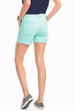 "Southern Tide Women's 5"" Caroline Short - Offshore Green"