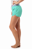 Southern Tide Women's Skipjack Lounge Short - Offshore Green
