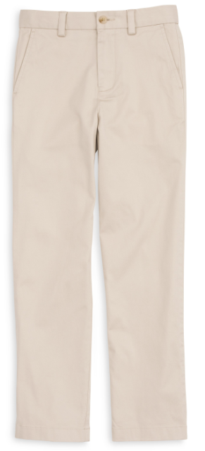 Southern Tide Boys' Channel Marker Pant - Stone