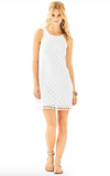 Lilly Pulitzer Marquette Shift Dress - Pineapple Geo Lace
