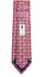 Vineyard Vines Truck & Palm Tie - Flamingo