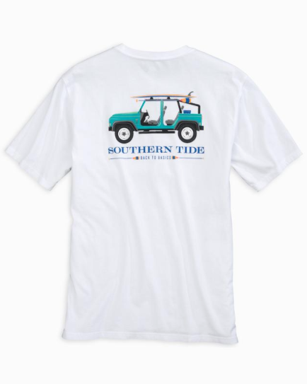 Southern Tide Back To Basics T-Shirt - Classic White