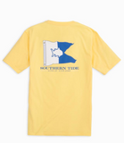 Southern Tide Alpha Up, Diver Down T-Shirt - Sunshine