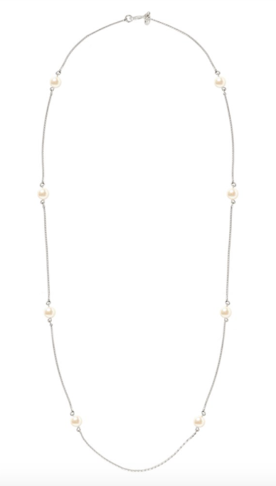 Kiel James Patrick Oceana Pearl Necklace - Silver