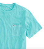 Vineyard Vines Dockside Jersey T-Shirt - Capri Blue