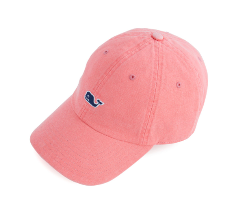 Vineyard Vines Women's Classic Washed Baseball Hat - Blush