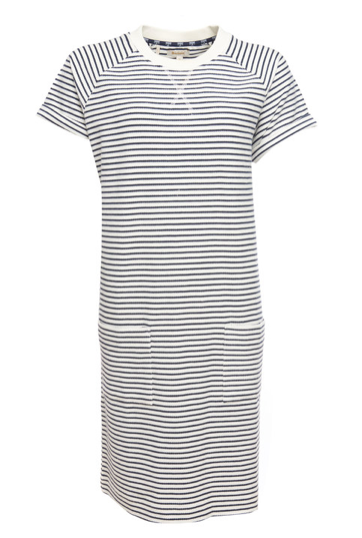 Barbour Monreith Dress - White/Navy