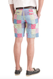 Vineyard Vines 9 Inch Patchwork Breaker Shorts - Sailors Red