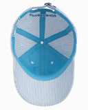 Southern Tide Men's Seersucker Skipjack Hat - Sky Blue