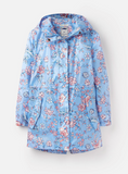 Joules Golightly Waterproof Jacket - Blue Indienne Floral