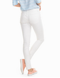 Southern Tide Resort Skinny Jean - Classic White