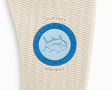 Southern Tide Women's Weekend Leather Flipjacks - Metallic Gold