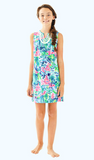 Lilly Pulitzer Girls Mini Harper Shift - Salt In The Air