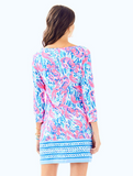 Lilly Pulitzer Marlowe Boatneck T-Shirt Dress - Cracked Up