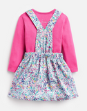 Joules Cali Bodysuit and Skirt Set - Acorn Ditsy