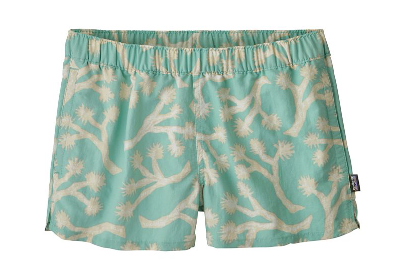 "Patagonia Women's Barely Baggies™ Shorts - 2 1/2"" - Joshua Trees Bend Blue"