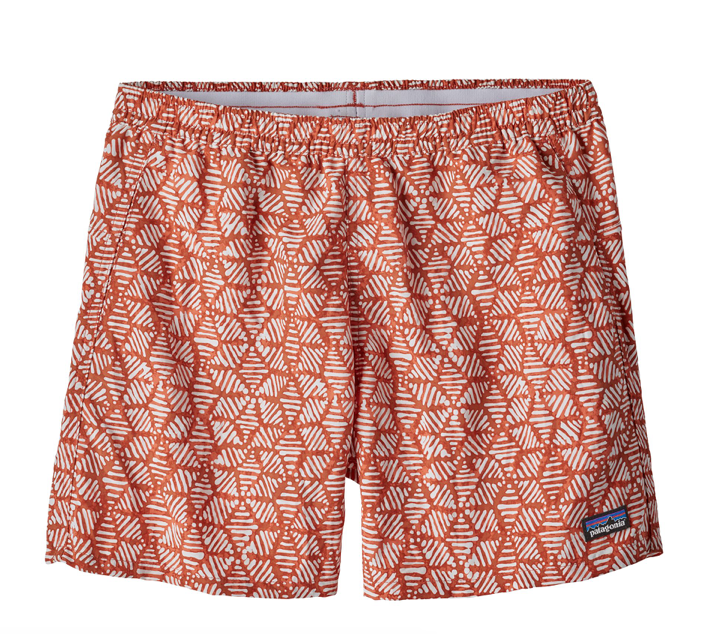 "Patagonia Women's Baggies™ Shorts - 5"" - Batik Hex Quartz Coral"