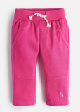 Joules Caro Woven/Jersey Mix Pants - True Pink