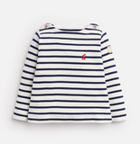 Joules Baby Harbour Jersey Top - French Navy Stripe
