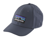 Patagonia P-6 Logo Stretch Fit Hat - Dolomite Blue