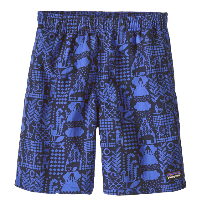 Patagonia Boys' Baggies™ Shorts - Mcquail Imperial Blue