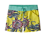 Patagonia Girls' Costa Rica Baggies™ Shorts - Cereus Flower Spire Yellow