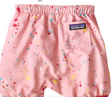 Patagonia Baby Baggies™ Two-Piece - Sequoia Splatter Feather Pink