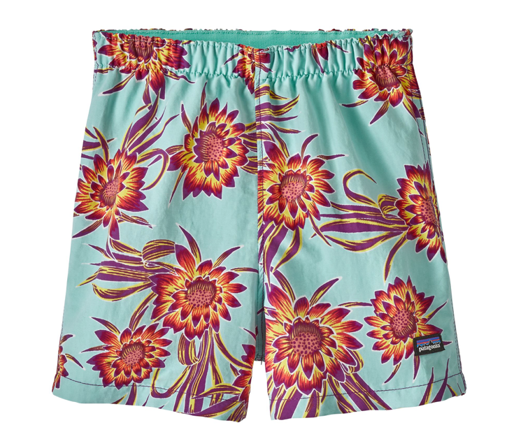Patagonia Baby Baggies™ Shorts - Cereus Flower Ikat Purple