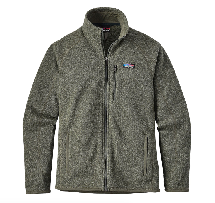 Patagonia Men's Better Sweater® Fleece Jacket - Industrial Green